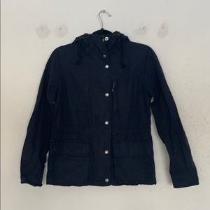Gap Navy Rain Coat Sz S